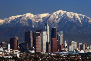 Travel Map USA Los Angeles